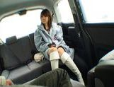 Nana Ayase Asian doll has hot car sex picture 3