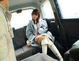 Nana Ayase Asian doll has hot car sex picture 4