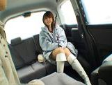 Nana Ayase Asian doll has hot car sex picture 5