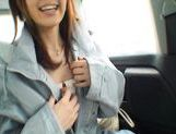 Nana Ayase Asian doll has hot car sex picture 6