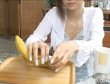Chihiro Hara Gives A Good Handjob To Her Partner picture 5