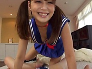 Nice teen featured in a kinky hardcore action