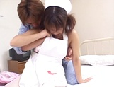 Cosplay sex loving Asian teen Tsumiki Shindo gets impaled on cock
