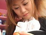 Naughty Asian maid, Hina Aizawa in hot solo masturbation scene