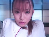Amateur hottie Moe Shinohara enjoys warm finger fucking on cam picture 11