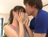 Sporty teen Shunka Ayami gets her big tits and ass licked picture 11