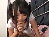 Hinata Natsume, naughty Asian maid in hot pov tit fuck picture 11