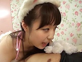 Saeki Rui gets anal rammed to rapturous delights picture 11