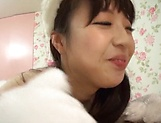 Saeki Rui gets anal rammed to rapturous delights picture 13