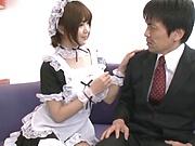 Kawamura Maya enjoys a hardcore shag