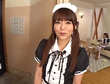 Impressive gangbang show with horny Japanese maids picture 2