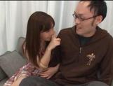 Minami Kojima, naughty Asian babe enjoys cosplay sex picture 12