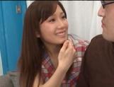 Minami Kojima, naughty Asian babe enjoys cosplay sex picture 13
