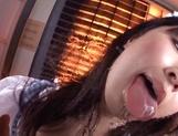 Mischievous cosplay lover Arisa Misato licks and deepthroats cock