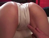 Hot Asian milf, Moe Shinohara enjoys cock deep in her wet pussy picture 11