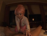 Busty Asian princess,Tsukada Shiori in amateur POV cosplay fuck show picture 12