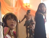 Japanese AV Model is a Race queen gets hard fucked in rough modes