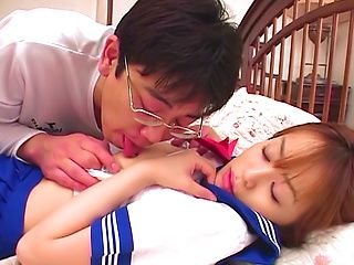 Moe Shinohara nice Asian teen gives hot blowjob and more