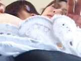 Japanese maid with big tits enjoys tasty dick in her vagina picture 13