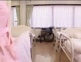 Lustful Asian nurse giving sensual head picture 13