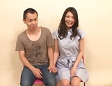 Naughty Nagomi loves pleasing throbbing cocks. picture 13