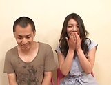 Naughty Nagomi loves pleasing throbbing cocks. picture 4