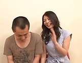 Naughty Nagomi loves pleasing throbbing cocks. picture 5