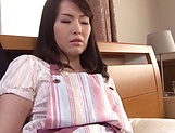 Mature Asian milf dildoing her juicy muff
