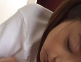 Young fresh Japanese teen gives a perfect cock sucking on pov picture 51