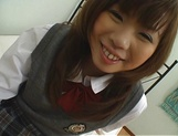 Naughty Asian teen, Misa Kurita is banged in doggy style picture 14