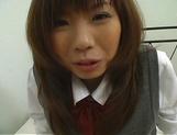 Naughty Asian teen, Misa Kurita is banged in doggy style