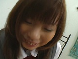 Naughty Asian teen, Misa Kurita is banged in doggy style