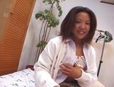 Asian schoolgirl, Maki Ishizaka, blows cock and gets fucked on cam