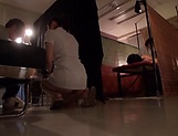 Gorgeous Asian masseur gets rammed and creamed picture 11