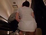 Gorgeous Asian masseur gets rammed and creamed picture 12