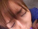 Steaming Asian girl Tomomi Takahara fucked by a group of guys