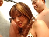 Passionate Japanese milf Mion Ayase in a nasty gangbang action picture 15