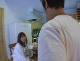 Passionate Japanese milf Mion Ayase in a nasty gangbang action