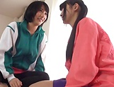 Wonderful lesbian group sex of pure lust picture 2