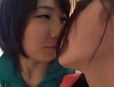 Wonderful lesbian group sex of pure lust picture 8