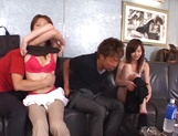 A few horny couples arrange some hot shagging