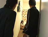 Amateur gangbang porn show with horny Asian schoolgirls picture 7