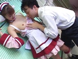 Hardcore cosplay sex with a steamy Japanese doll, Mari Yamada picture 10