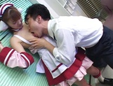 Hardcore cosplay sex with a steamy Japanese doll, Mari Yamada picture 11