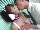 Hardcore cosplay sex with a steamy Japanese doll, Mari Yamada