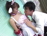 Hardcore cosplay sex with a steamy Japanese doll, Mari Yamada picture 6