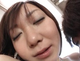 Comely Japanese teen shows off in amateur hardcore scene picture 90