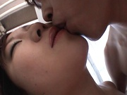 Comely Japanese teen shows off in amateur hardcore scene