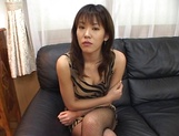 Arousing Japanese hottie with big tits gets tit fucked picture 12