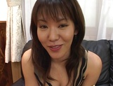Arousing Japanese hottie with big tits gets tit fucked picture 15
